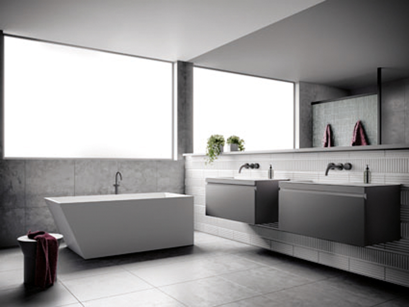 The Omvivo Collection: Pure bathroom indulgence