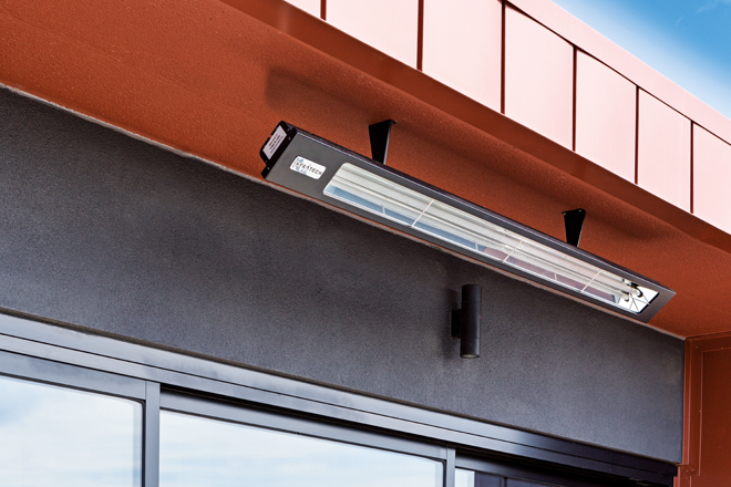 Start planning your outdoor heating with Infratech