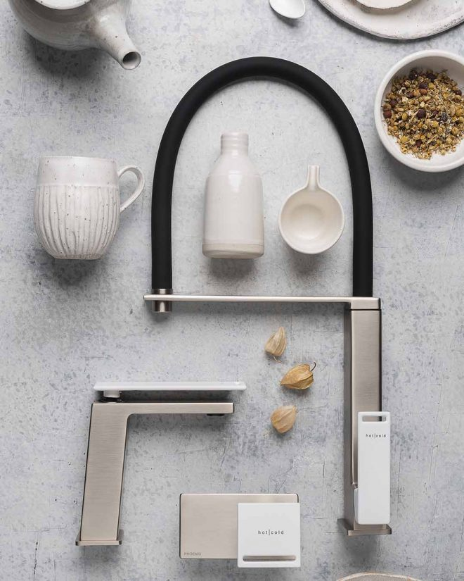 Zimi Mood Board Matte White Handle