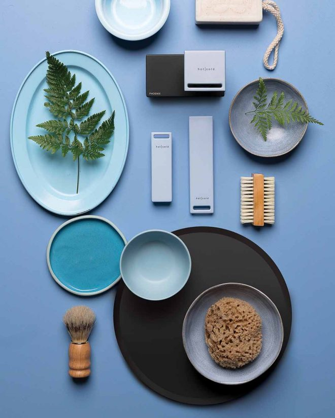 Zimi Mood Board Powder Blue Handle