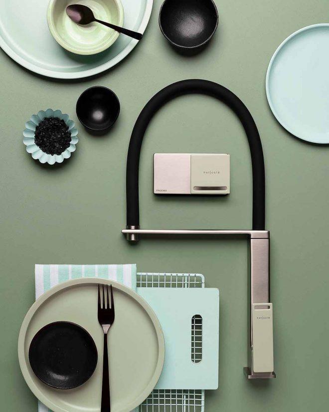 Zimi Mood Board Sage Green Handle
