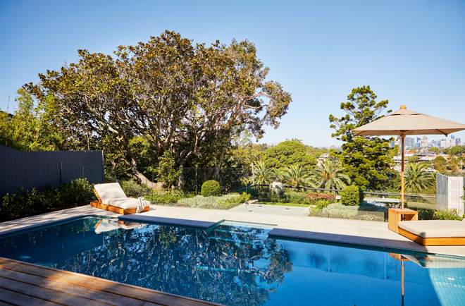 This Sydney garden is a place to relax, entertain and enjoy views of the city