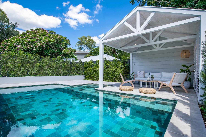 Beau Corp uses Sukabumi pool tiles to create aquatic paradise