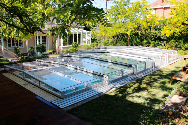 Swim anytime with an Excelite pool enclosure