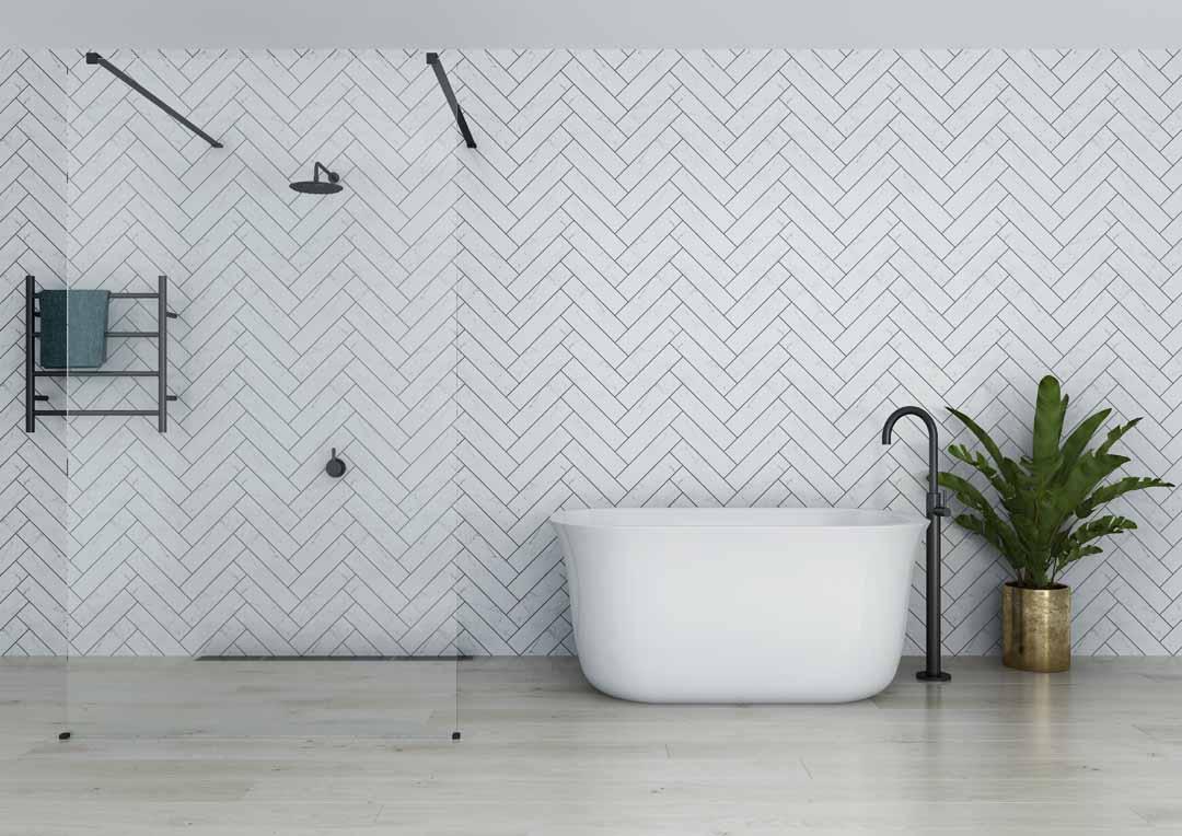 Decina Lindo Freestanding Soaker Bath