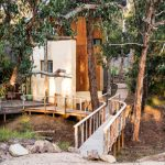 A rustic garden with a beach-bush getaway feel