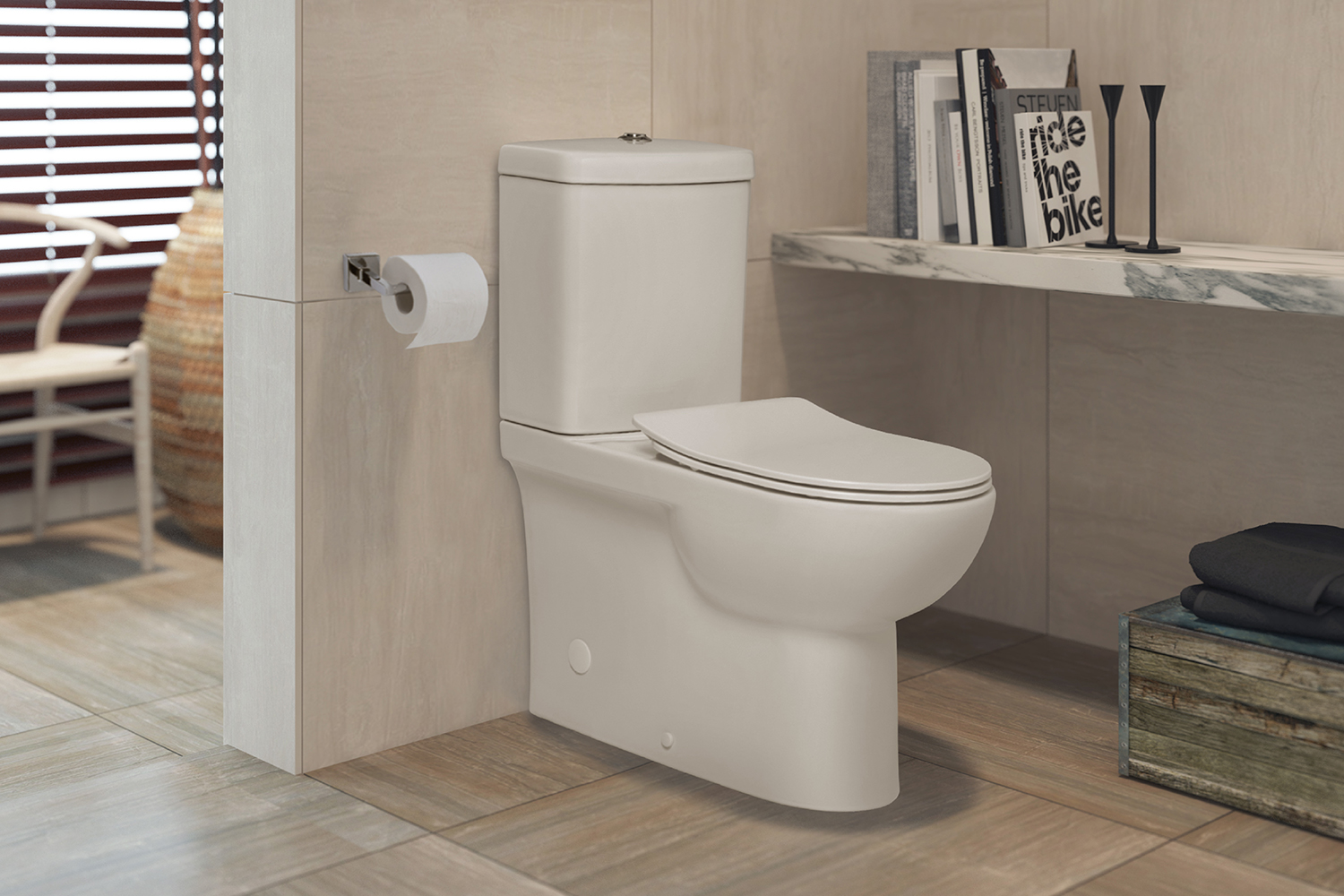 New Rimless Toilet Suites by JohnsonSuisse: No Rim. No Blockage. No Hassle.