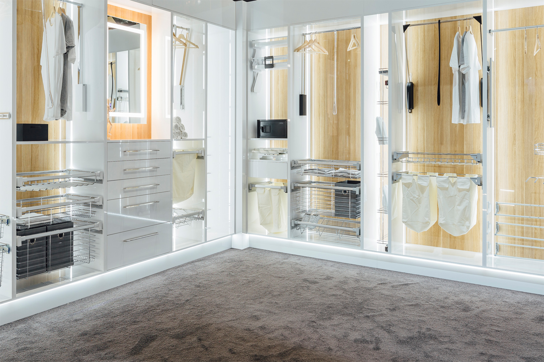 Wardrobe and storage solutions by Häfele