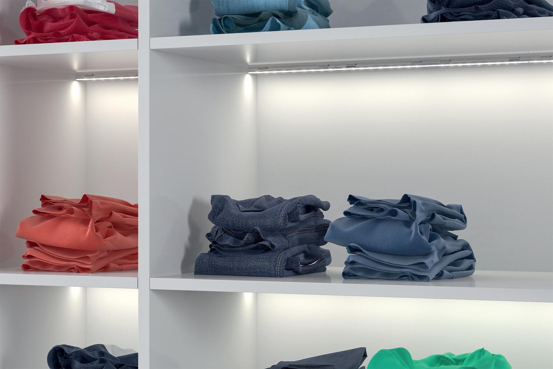 Loox Wardrobe Shelves