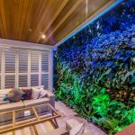 Transforming an outdoor room with an incredible green wall