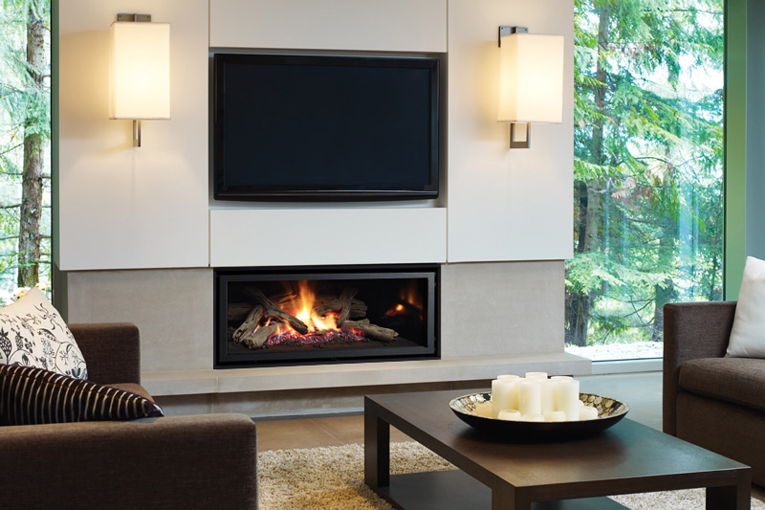New GF950L: Our most flexible fireplace yet!