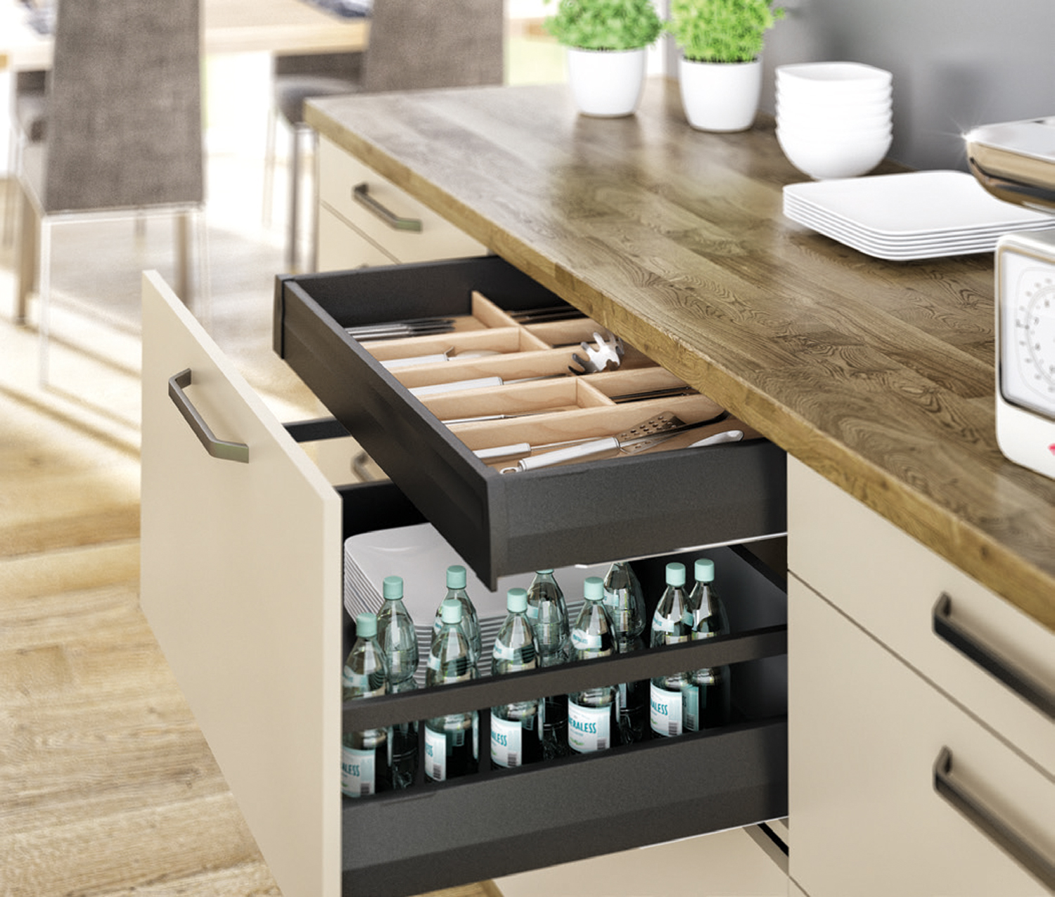 Häfele's Drawer Range