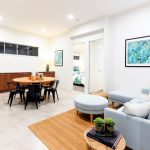 A split-level home with a difference