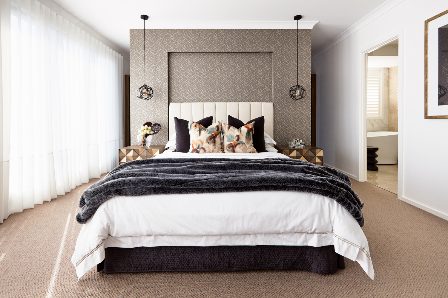 Touch Of Glamour A Chic Home Design With Granny Flat Completehome