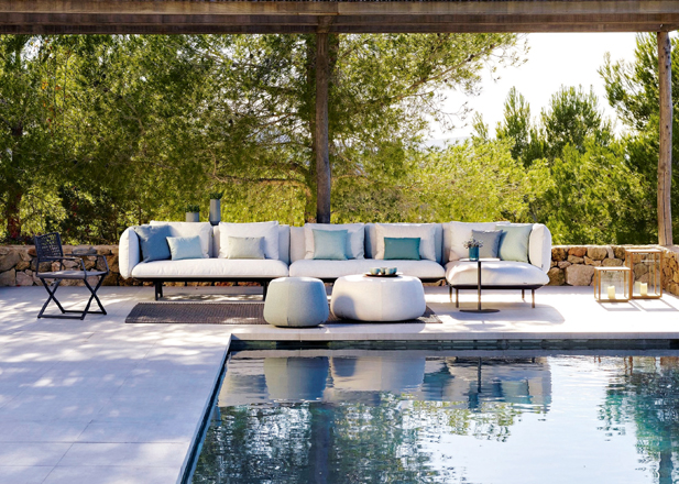 This outdoor furniture range epitomises divine design