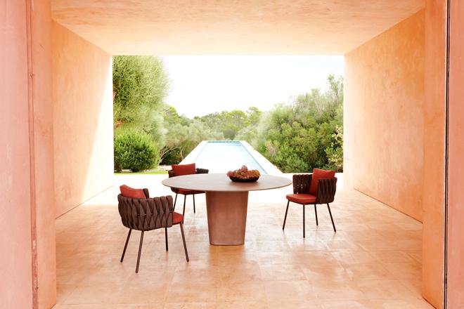 This outdoor furniture range epitomises divine design