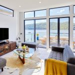 Waterfront Wonder: A multi-level modular home
