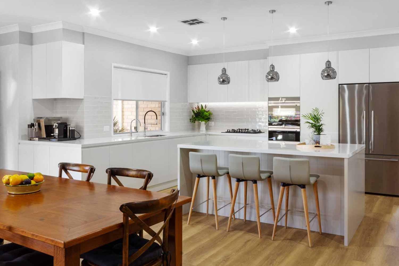 Modern Kitchen Design Sydney White Kitchen Bosch Fisher Paykel Dulux Silestone Siemens Zip Tap 3