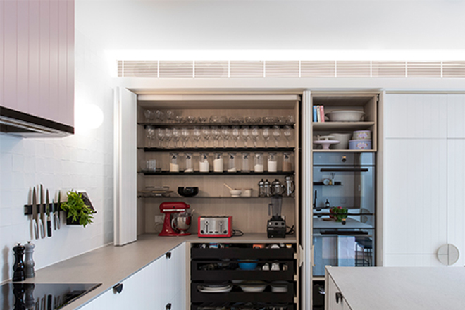 This Paddington kitchen by Minosa Design is the ultimate in entertaining
