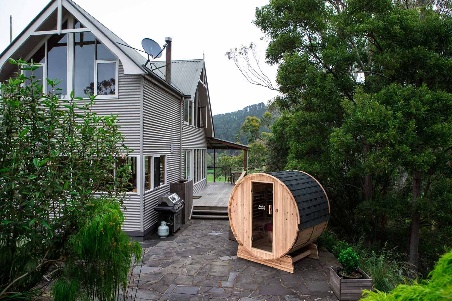 Ihealth Outdoor Barrel Sauna