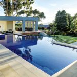 A Melbourne Pool with swim-up bar, infinity-edge and more