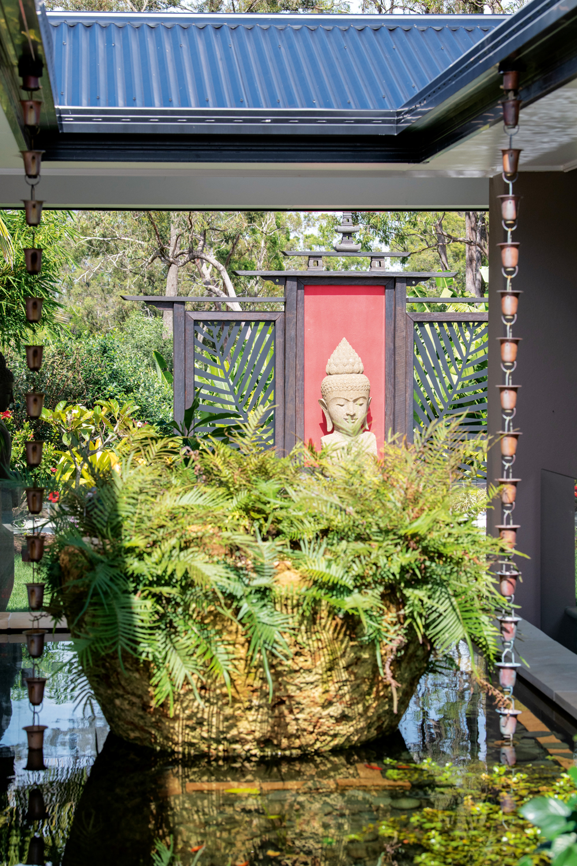 This Balinese garden recreates Bali Luxury in owner's backyard