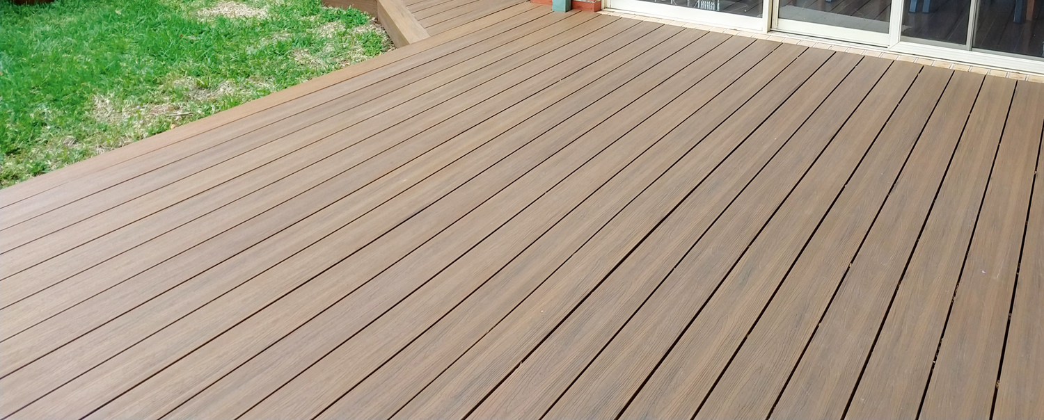 Get the timber look without the maintenance: clever composite decking