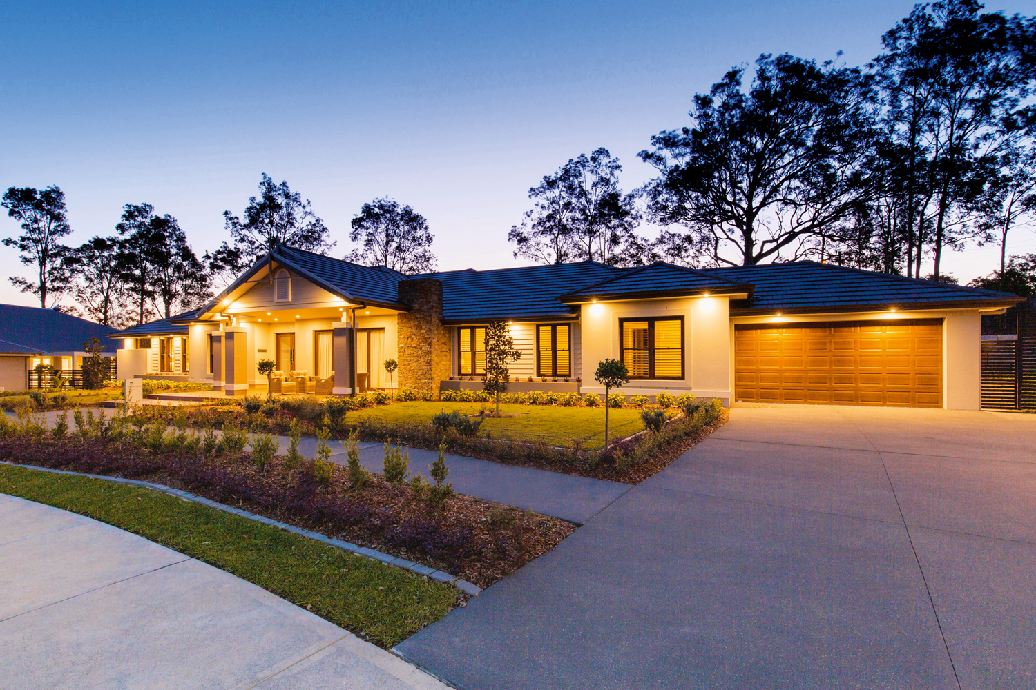 This practical home has an elegant country feel for modern living