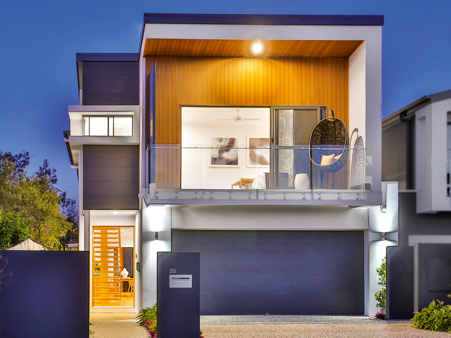 This open-plan knockdown-rebuild home is this young family's dream