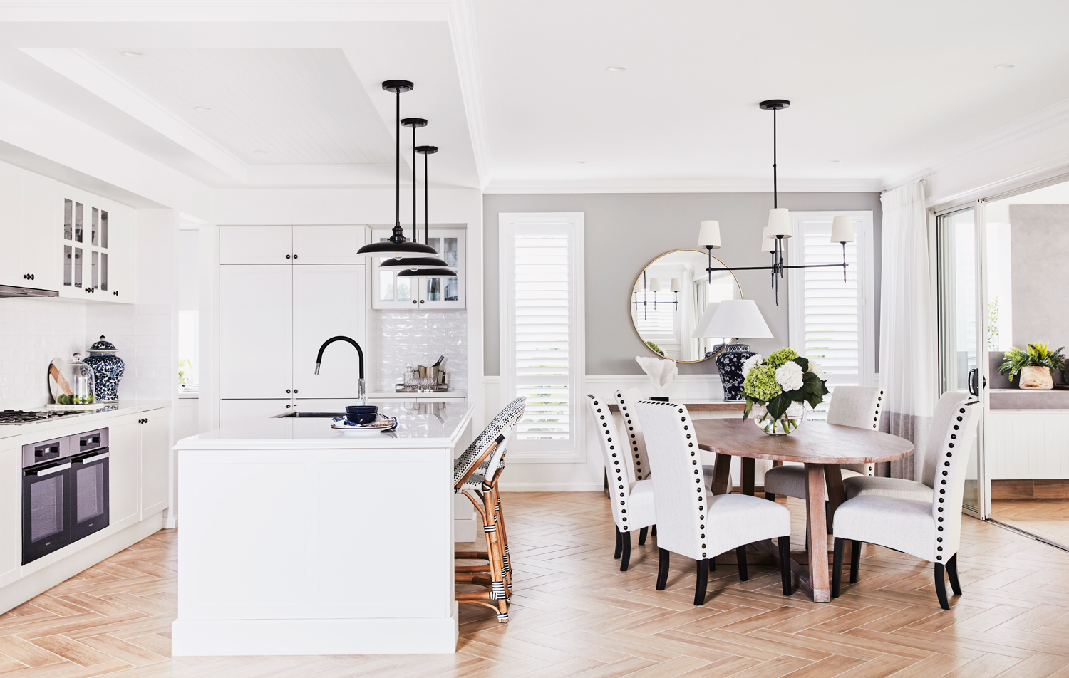 This multigenerational Hamptons Home is classic yet casual