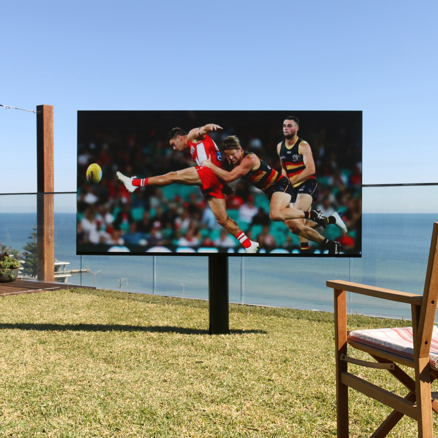 Genuine outdoor TV's by Solid Display Systems