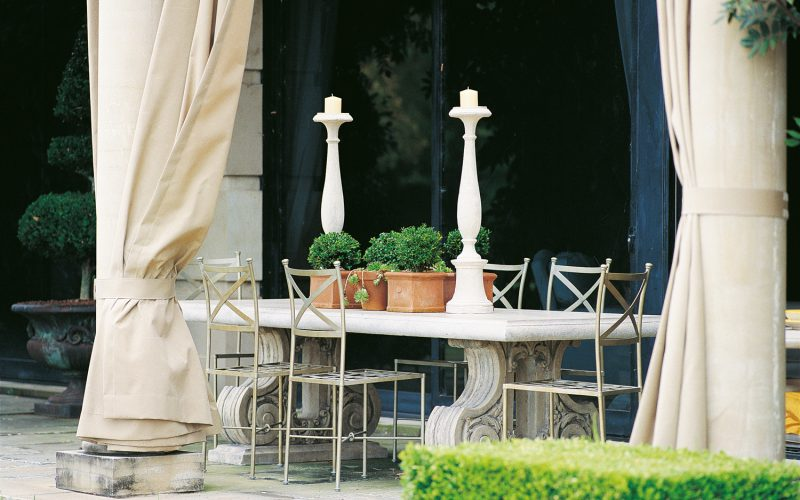 Classic European style for any outdoor space