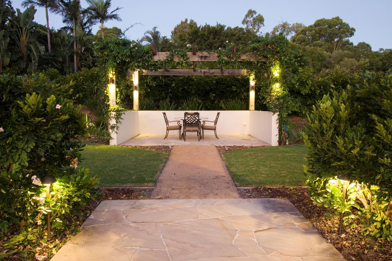 Enjoy the night life with expert garden lighting