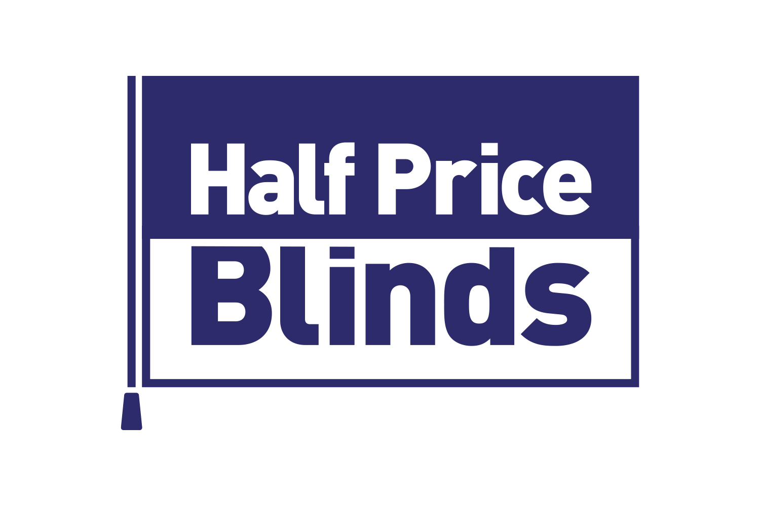 Half Price Blinds Logo