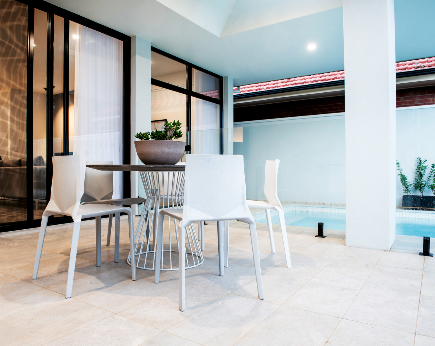 Thinking Limestone? Jazz White limestone is perfect for a timeless outdoor space