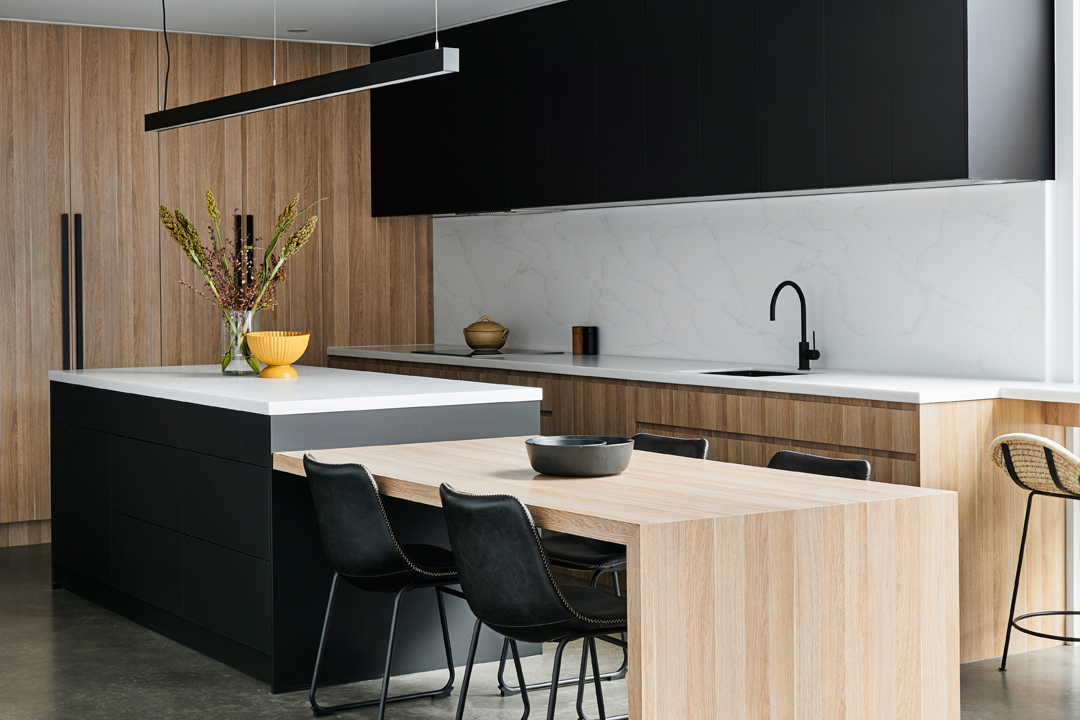 One surface making all the difference in the contemporary kitchen