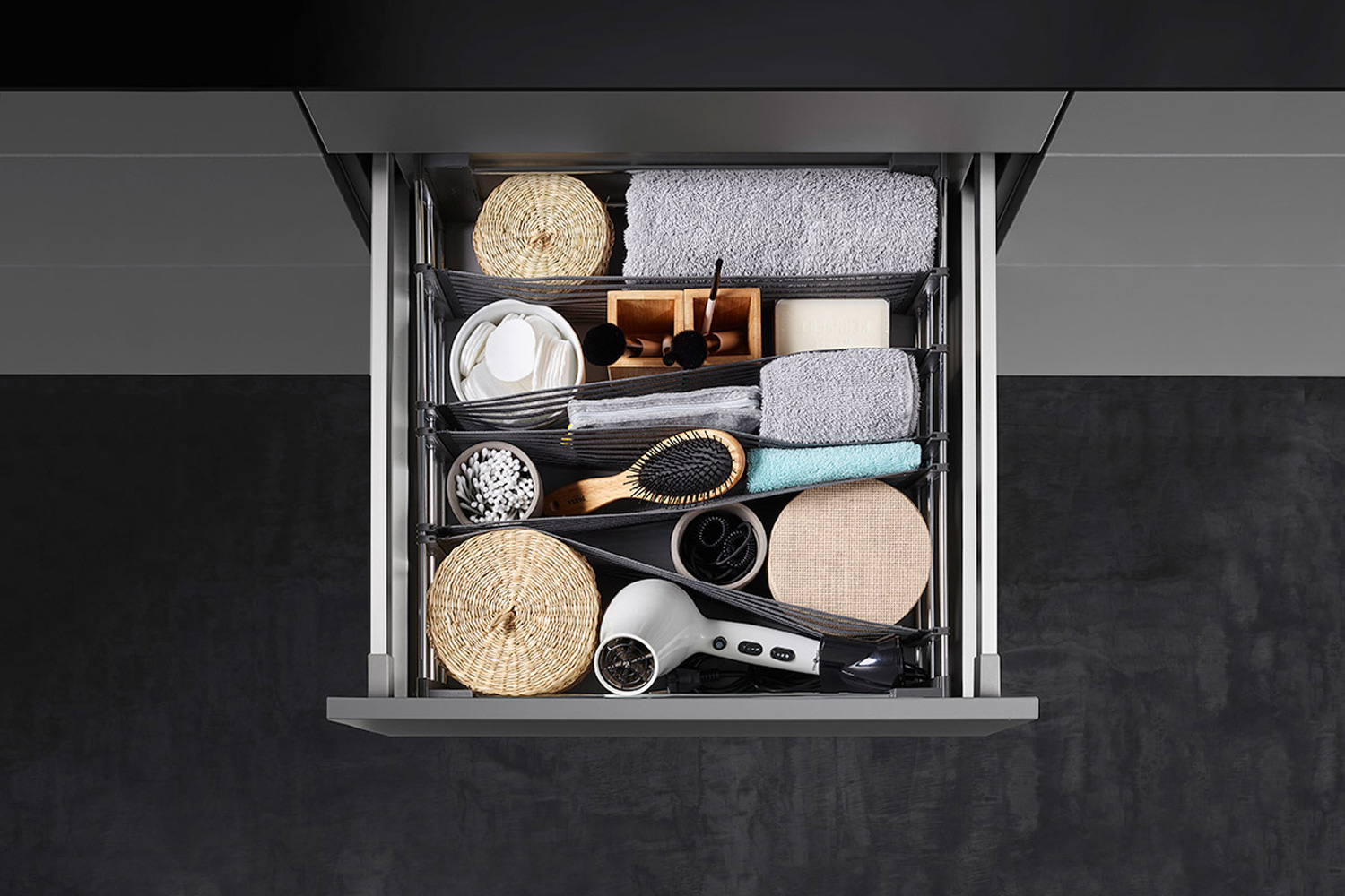 Flexible Drawer Organisation made easy