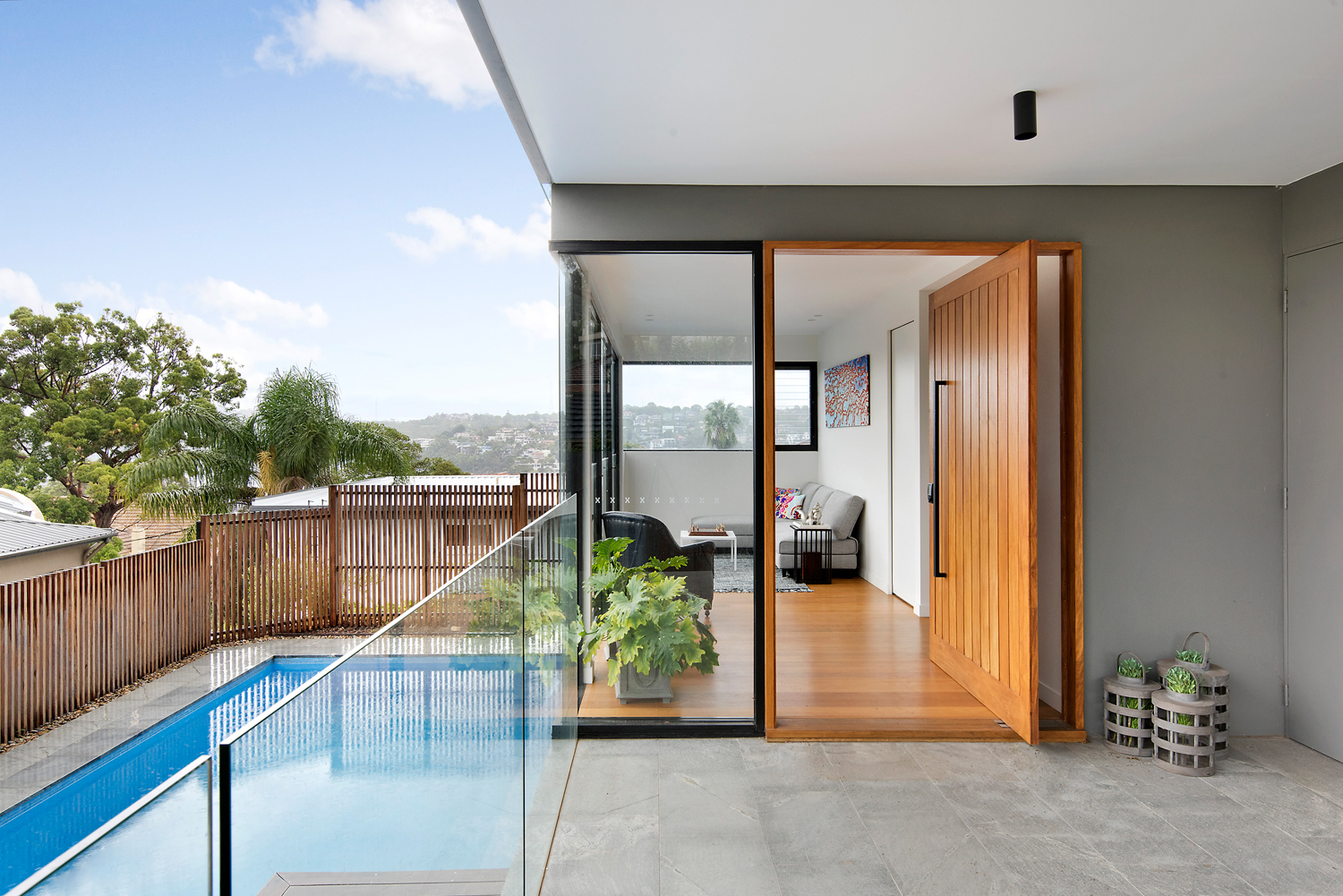 Inside a contemporary Mosman home and its challenging build process