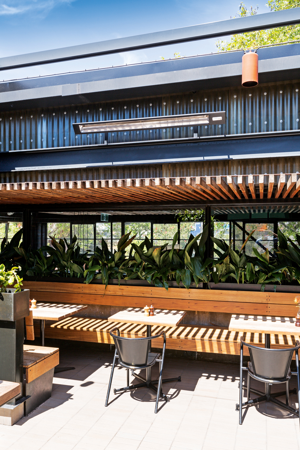 Electric outdoor heating to extend your entertaining hours