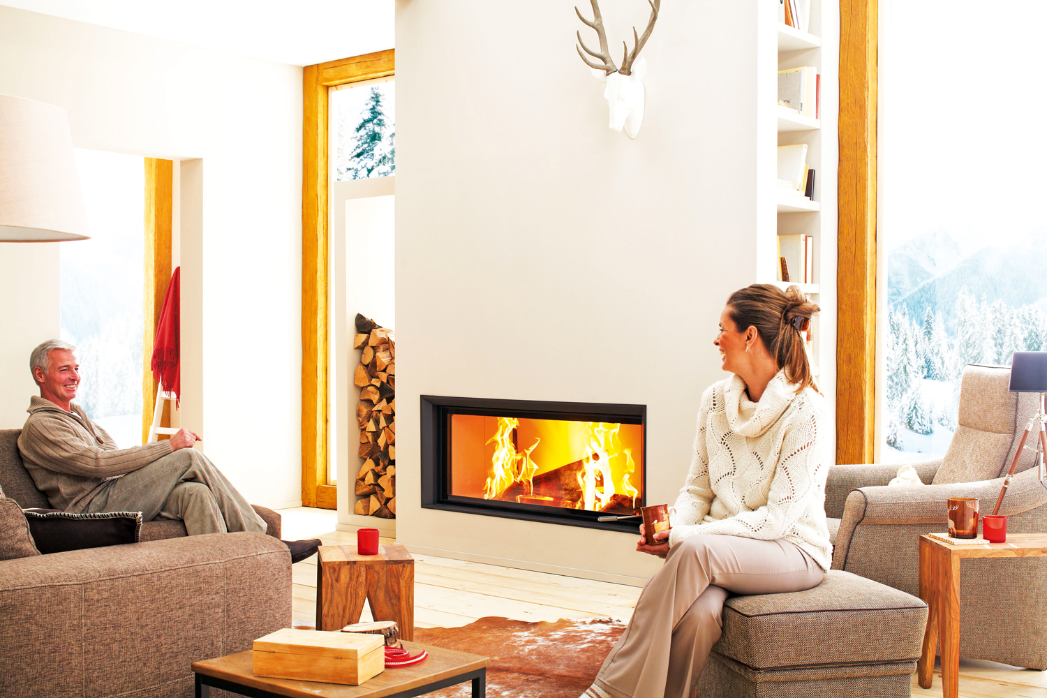 Brunner wood heaters from Euro Fireplaces