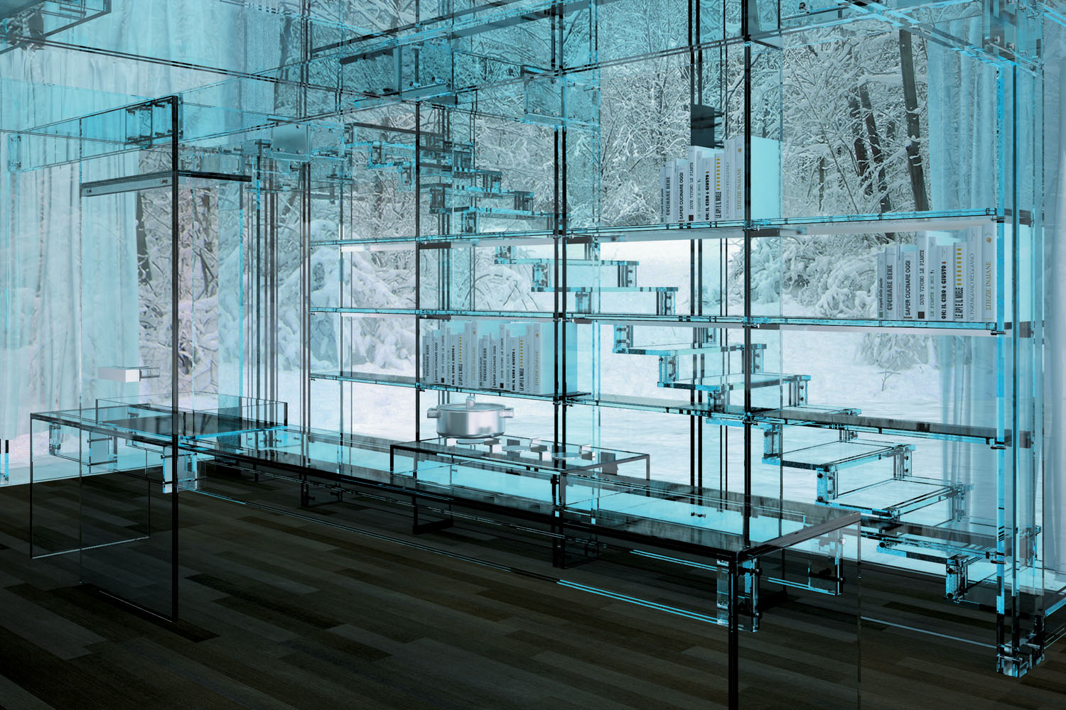Glass glorious glass: incorporating glass into your home