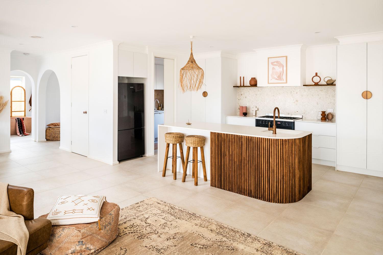 Textured Kitchen