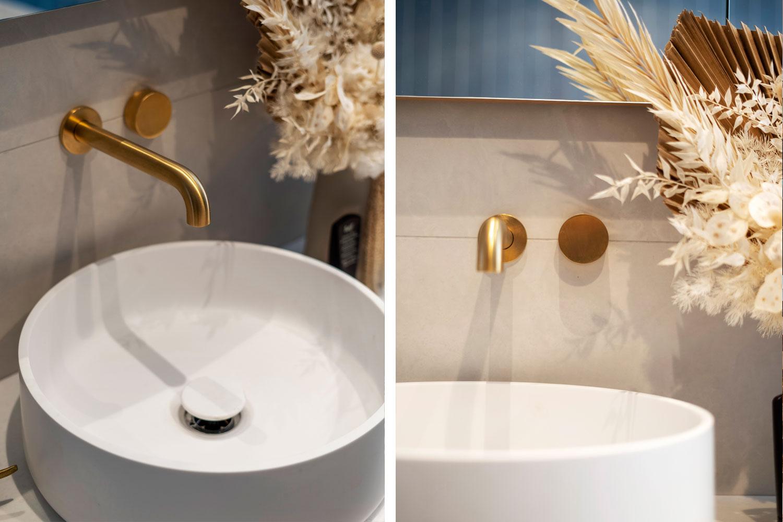 gold tapware