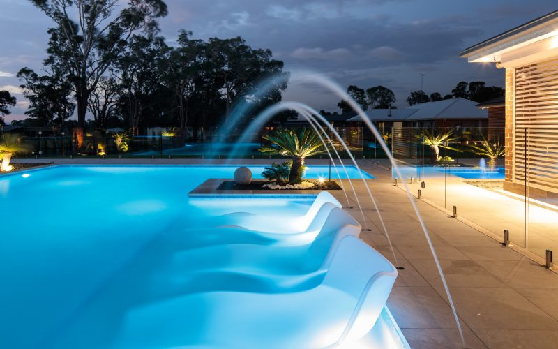 pool step