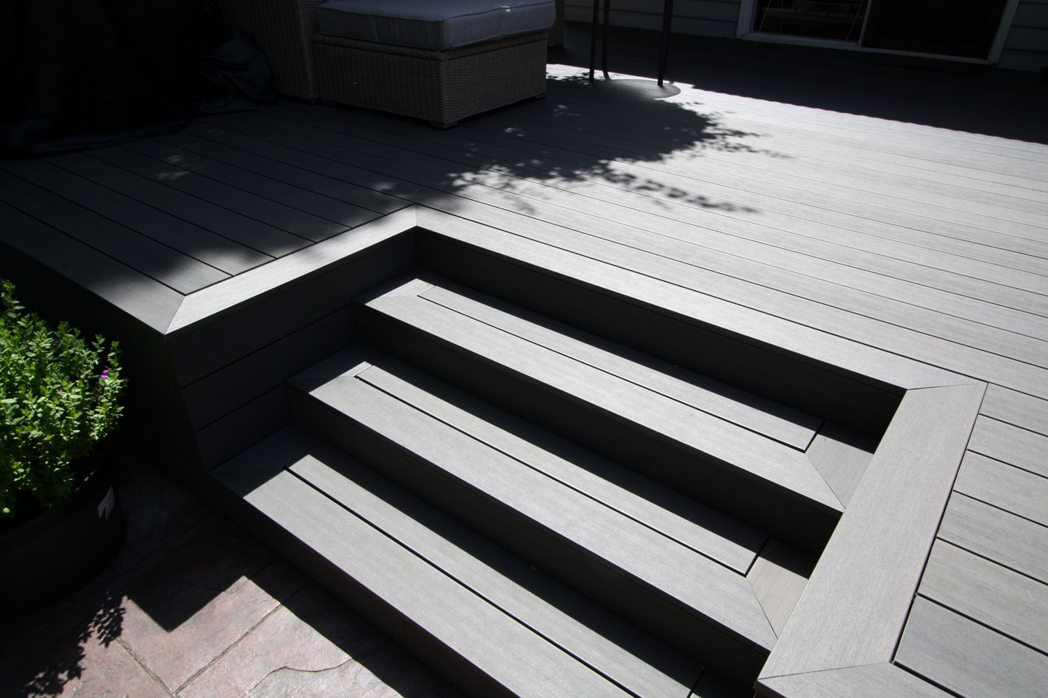 futurewood timber deck for stairs
