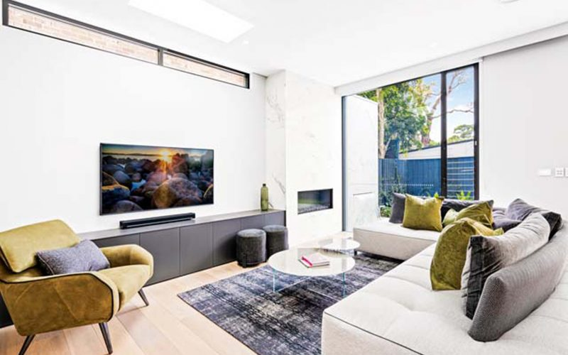 luxurious home in Mosman