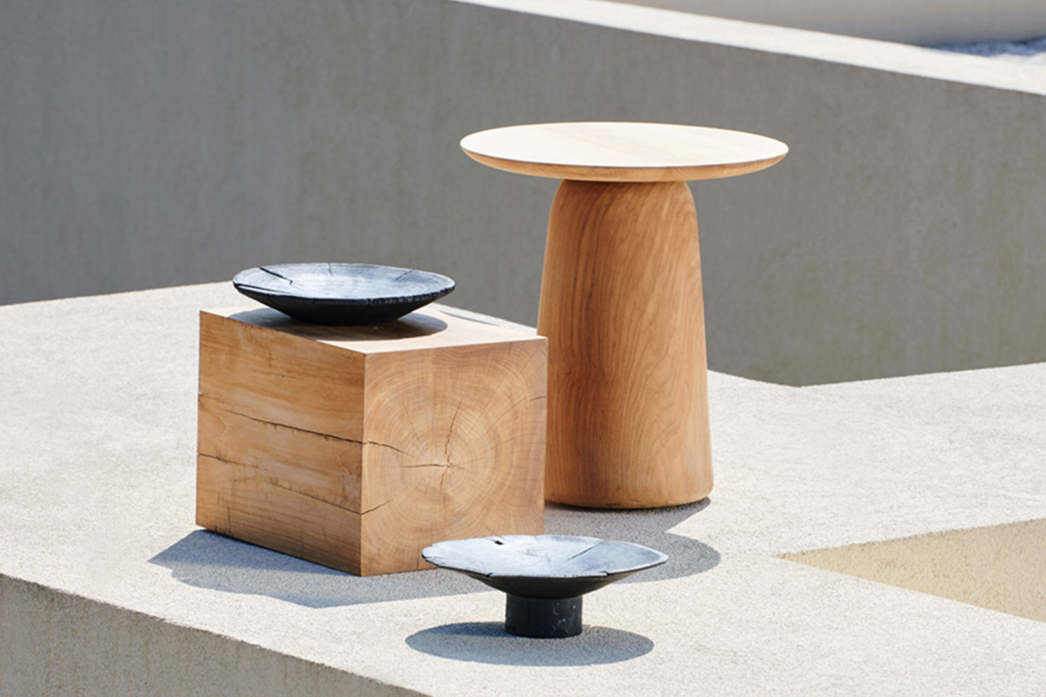 The Dunes side table is teak outdoor furniture that is built to last.