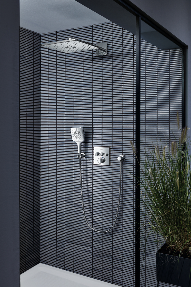 The GROHE Rainshower SmartActive is the latest innovation in shower technology