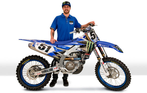 JUSTIN BARCIA TO YAMAHA FACTORY RACING