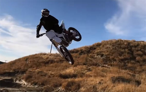 VIDEO: JOSH HILL ELECTRIC SX